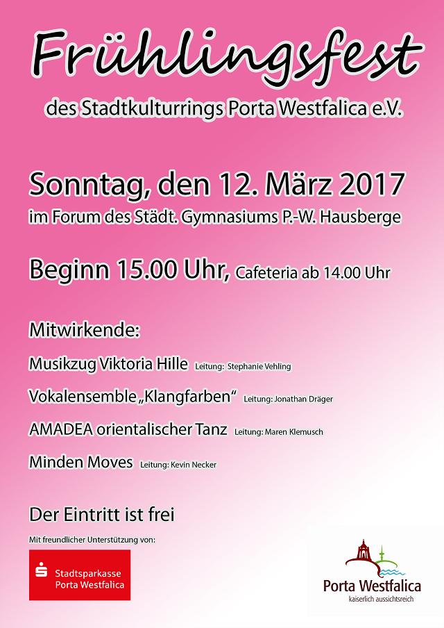 Flyer Frühlingsfest 2017